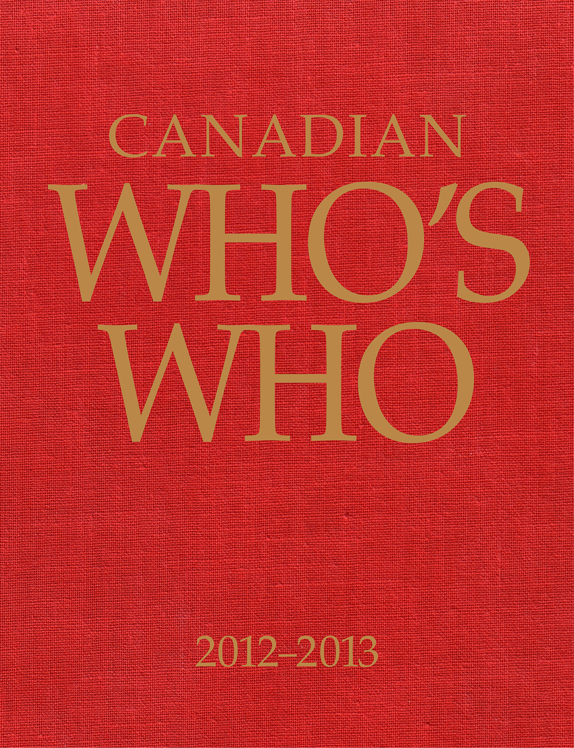 Canadian Whos Who Abbreviations Index